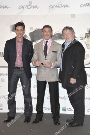 Alessandro Camon, Sylvester Stallone and Walter Hill