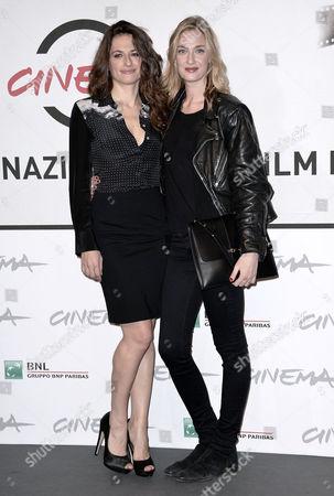 Anita Kravos and Eva Riccobono