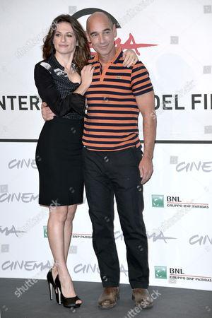 Anita Kravos and Jean-Marc Barr