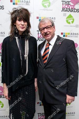 Stock Image of Imogen Heap and Professor Heinz Gerhauser