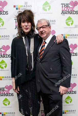 Editorial photo of Lovie Awards, London, Britain - 14 Nov 2012