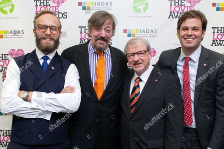 Editorial picture of Lovie Awards, London, Britain - 14 Nov 2012