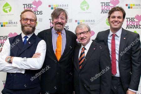 Stock Picture of Nicolas Roope, Stephen Fry, Professor Heinz Gerhauser, David-Michel Davies