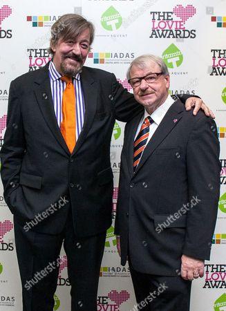 Stephen Fry and Professor Heinz Gerhauser