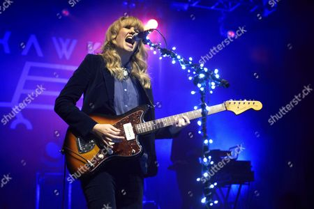 Editorial photo of Ladyhawke in concert at the Kentish Town Forum, London, Britain - 14 Nov 2012
