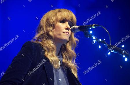 Editorial image of Ladyhawke in concert at the Kentish Town Forum, London, Britain - 14 Nov 2012