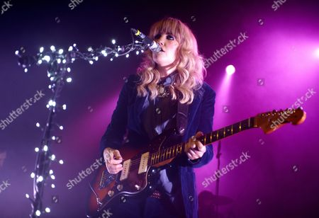Editorial picture of Ladyhawke in concert at the Kentish Town Forum, London, Britain - 14 Nov 2012