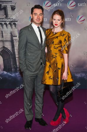 Editorial picture of 'World Without End' TV programme premiere, Berlin, Germany - 14 Nov 2012