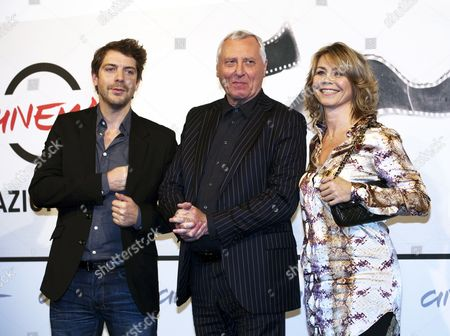 Director Peter Greenaway, Ramsey Nasr and Anne Loiuse Hassing