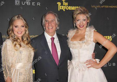 Jenni Barber, Henry Winkler, Ari Graynor