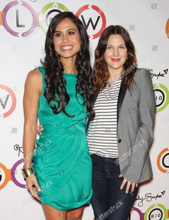 Kimberly Snyder and Drew Barrymore