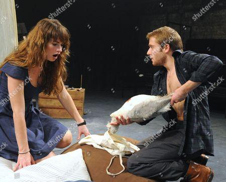'The Seagull' - Lily James as Nina and Joseph Drake as Konstantin
