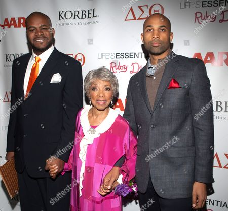 Ruby Dee and Muta'Ali Muhammad