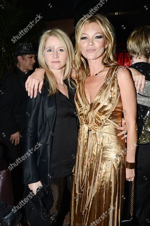 Lee Starkey and Kate Moss
