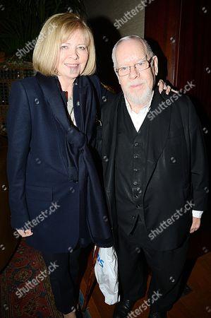 Sir Peter Blake and wife Chrissy Blake