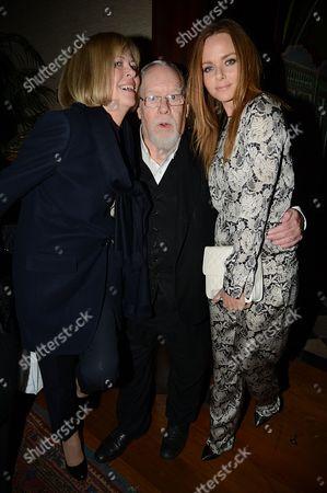 Stella McCartney and Sir Peter Blake with wife Chrissy Blake