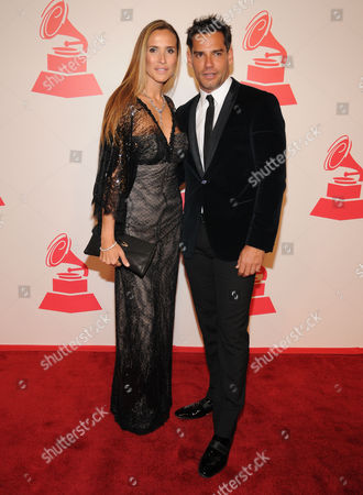 Stock Photo of Angelica Castro and Cristian de La Fuente