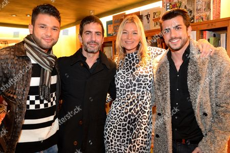 Stock Picture of Kate Moss and Marc Jacobs, Harry Louis
