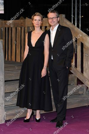 Stock Photo of Cynthia Nixon and Nicolas Paalzow
