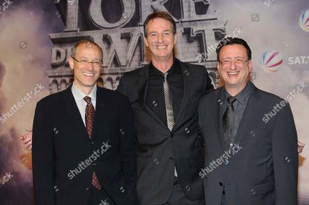 Stock Photo of David W. Zucker, Thomas von Hennet and Tim Halkin
