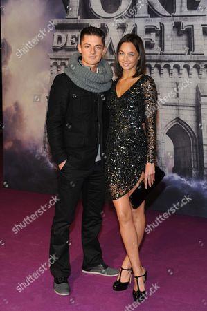 Stock Photo of Katarzyna Lenhard and boyfriend