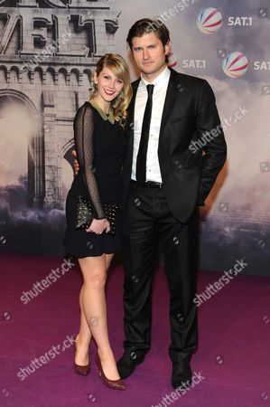 Tom Weston-Jones and girlfriend Kelly