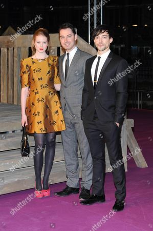 Editorial photo of 'World Without End' TV programme premiere, Berlin, Germany - 14 Nov 2012