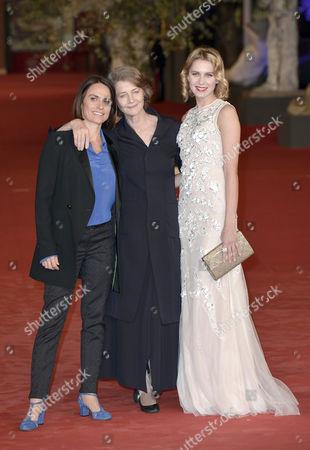 Alina Marazzi, Charlotte Rampling and Elena Radonicich