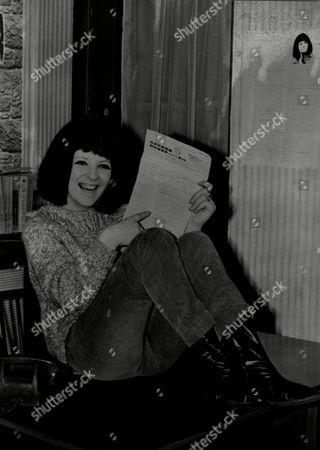 Stock Picture of Beryl Marsden Singer.