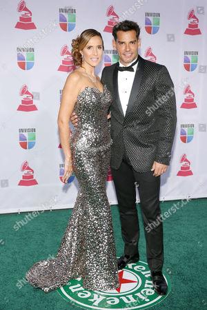 Stock Image of Angelica Castro and Cristian de La Fuente