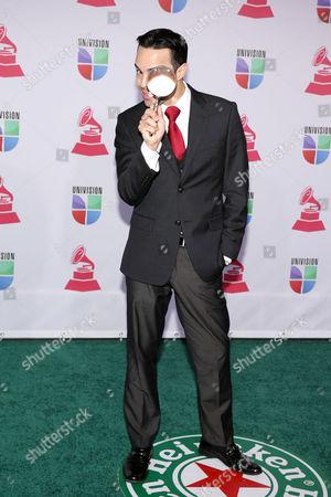 Editorial picture of Latin Grammys at Mandalay Bay Resort , Las Vegas, America - 15 Nov 2012