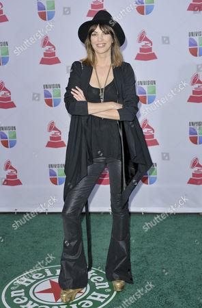Editorial image of Latin Grammys at Mandalay Bay Resort , Las Vegas, America - 15 Nov 2012