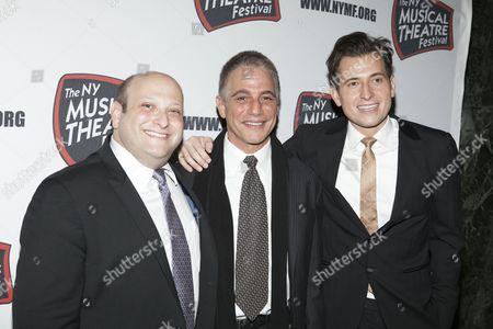 Stock Photo of Isaac Hurwitz, Tony Danza and Peter Cincotti