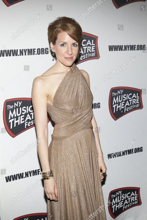 Editorial picture of The New York Musical Theatre Festival Gala honors Kelli O'Hara!, New York, America - 12 Nov 2012