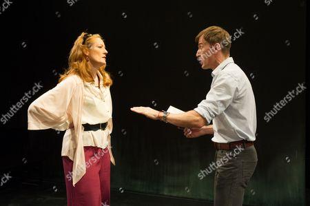 'The Seagull' - Julia St. John (Polina) and Anthony Howell (Trigorin)
