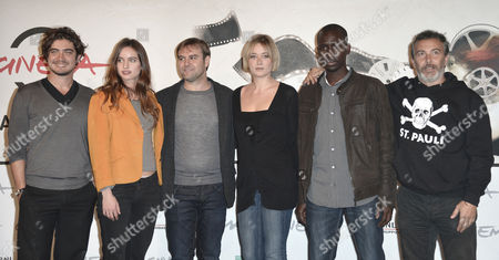 Francesco Amato ed il cast Riccardo Scamarcio, Clara Ponsot, Paolo Sassanelli, Souleymane Sow, Giorgia Salari