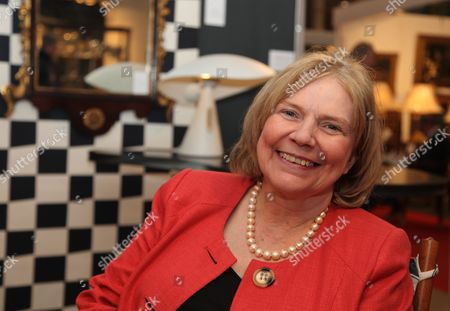 Judith Miller, antiques expert, author and TV personality, at the Irish Antique Dealers Association Annual Fair, Dublin, Ireland