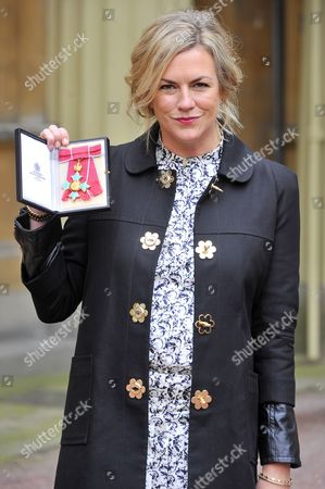 Emma Hill received the OBE