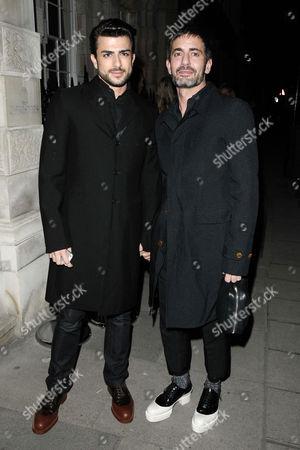 Marc Jacobs and boyfriend Harry Louis