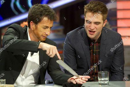 Editorial picture of 'El Hormiguero' TV programme, Madrid, Spain - 15 Nov 2012