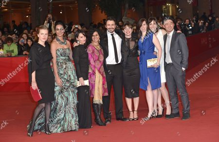 Shruti Ganguly, Tine Thomasen, Gabrielle Demeestere, Shripriya Mahesh, James Franco, Edna Biesold, Sarah-Violet Bliss, Brooke Goldfinch and Bruce Thierry Cheung
