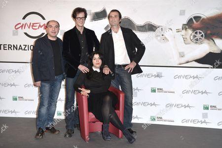 Marjane Satrapi, Mattias Ripa, Stephane Roche and Ali Mafakheri