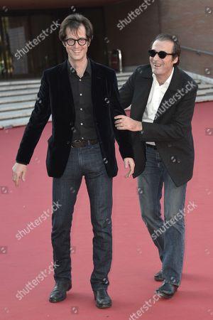 Stock Picture of Mattias Ripa and Stephane Roche