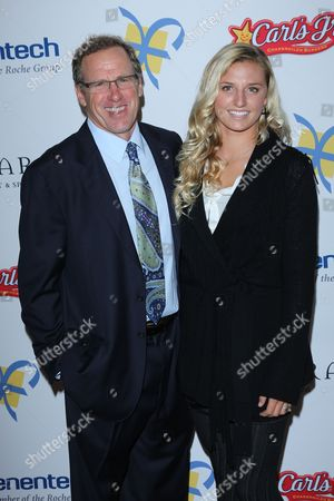 Lakey Peterson with her Dad David