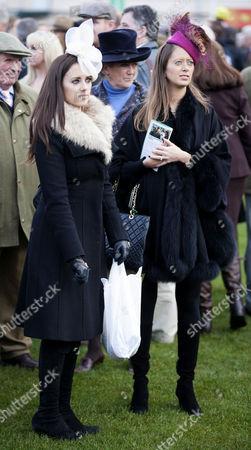 Stock Photo of Camilla and Tessa Henderson