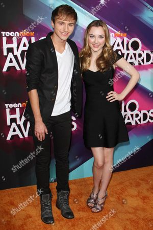 Lucas Cruikshank and Victory Van Tuyl