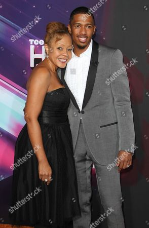 Nick Cannon and mother Beth Gardner