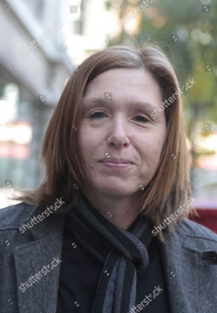 Stock Photo of Patty Schemel outside Radio 2