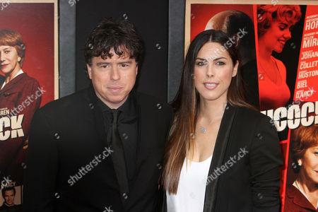Stock Image of Sacha Gervasi and Jessica Gervasi