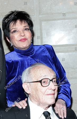 Stock Image of Liza Minnelli and James M. Nederlander